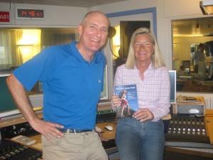 b5Aktuell-Studio: Heidi Rauch im Radio-Interview mit Fritz Häring