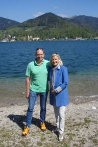 Am Tegernsee haben Peter und Heidi immer die besten Ideen....