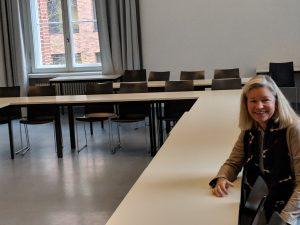Probesitzen im Seminarraum 2, Virchowweg 9, Charité-Campus Mitte